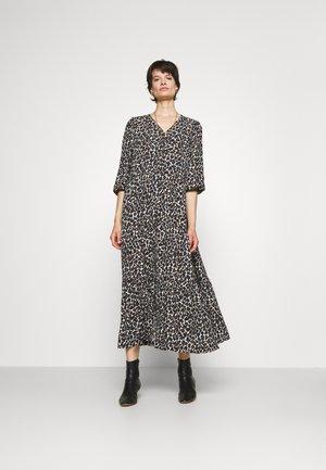 CHELSEA DRESS - Robe longue - ecru/multicolor