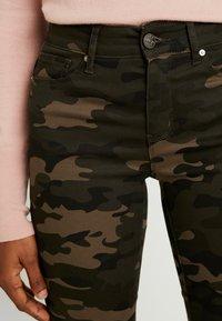 ONLY - ONLNINE ESTER LIFE - Trousers - peat/crocoblack - 6