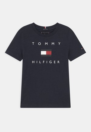 LOGO - Print T-shirt - twilight navy