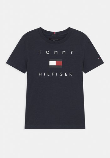 LOGO - T-shirt print - twilight navy