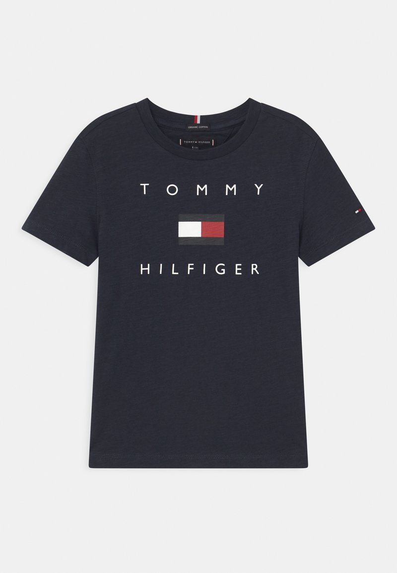 Tommy Hilfiger - LOGO - Print T-shirt - twilight navy