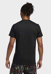 adidas Performance - HARDEN LOGO T-SHIRT - Print T-shirt - black - 1
