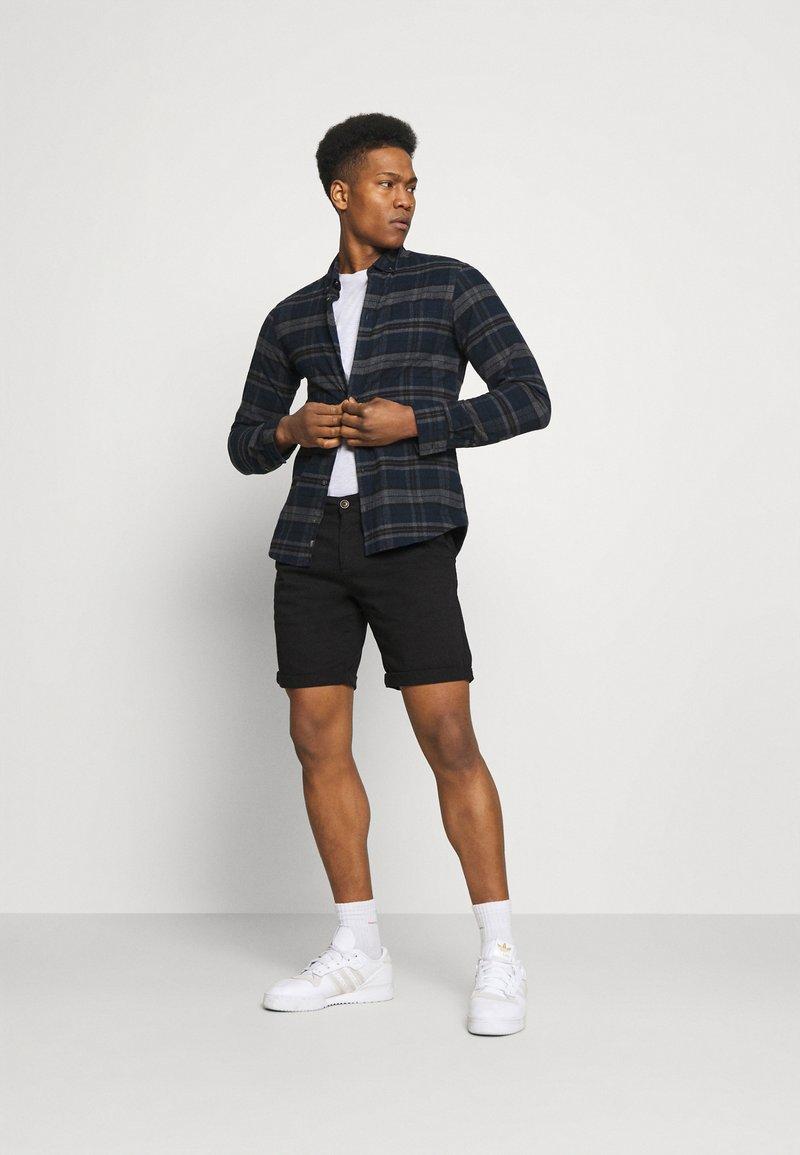 Jack & Jones - JJIDAVE 2 PACK - Shorts - black
