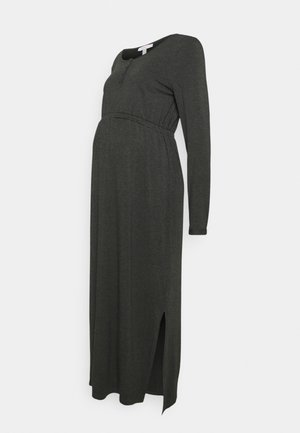 DRESS NURSING - Maxi dress - anthracite