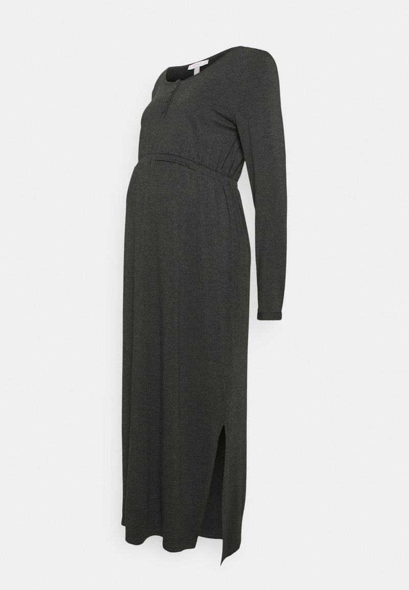 Esprit Maternity - DRESS NURSING - Maxi dress - anthracite