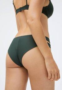 OYSHO - STRAP DETAIL - Bikini bottoms - evergreen - 2