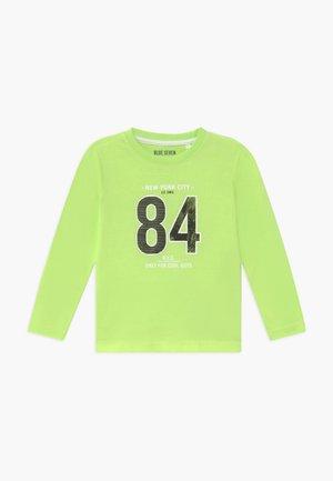 KIDS DINOSAUR - Longsleeve - neon green
