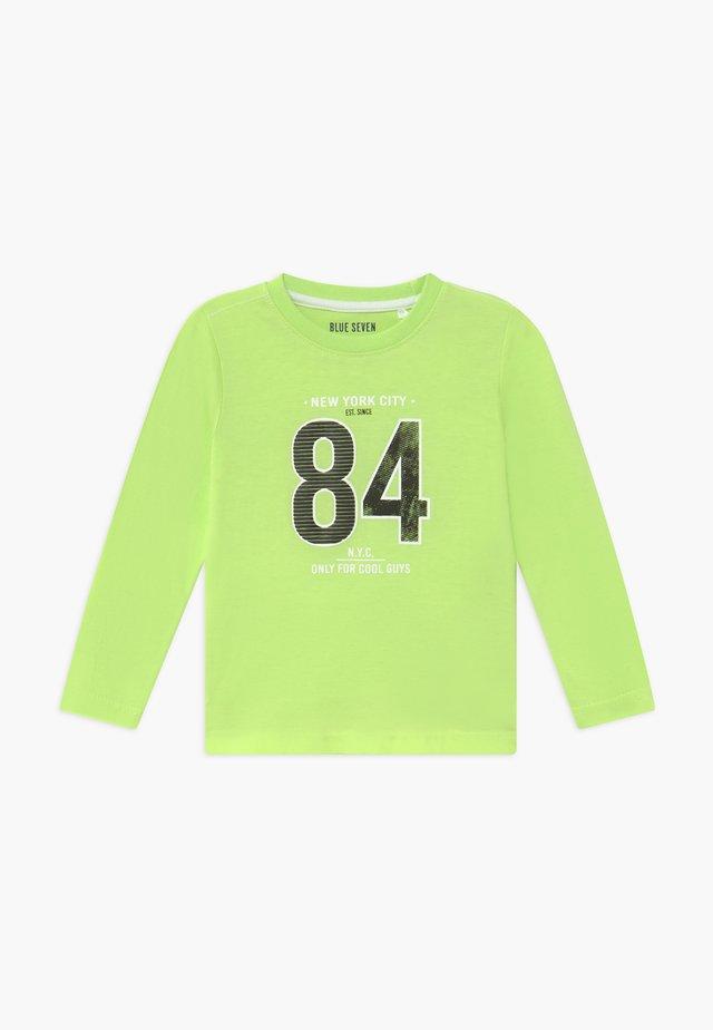 KIDS DINOSAUR - Top sdlouhým rukávem - neon green
