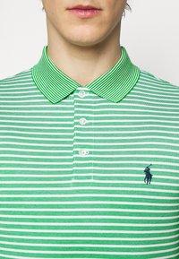 Polo Ralph Lauren - OXFORD - Polotričko - golf green/white - 5