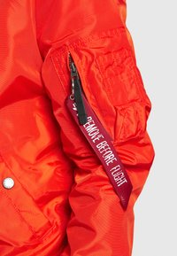 Alpha Industries - Bomber Jacket - atomic red - 4