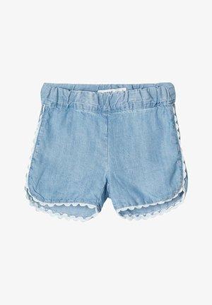JEANSSHORTS LEICHTE - Shorts di jeans - light blue denim