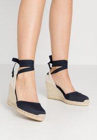 ALOHAS - CLARA BY DAY - High heeled sandals - navy - 0
