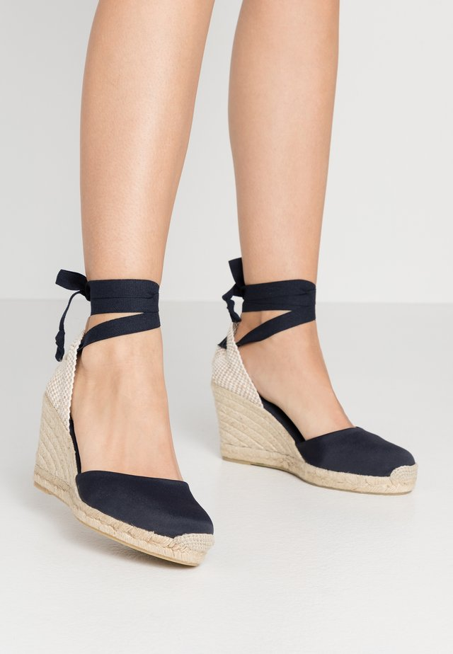 CLARA BY DAY - Sandalen met hoge hak - navy