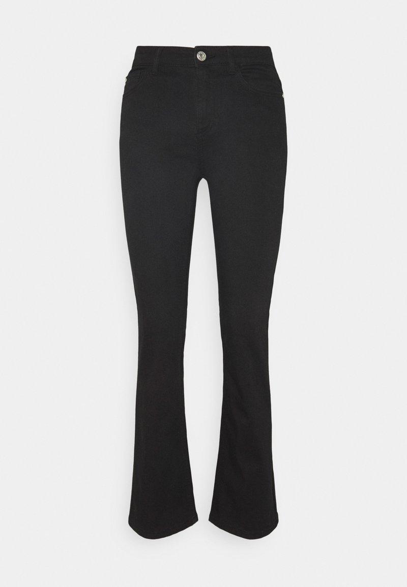 ONLY Tall - ONYKENYA LIFE MID SWEET  BJ - Jeans a zampa - black
