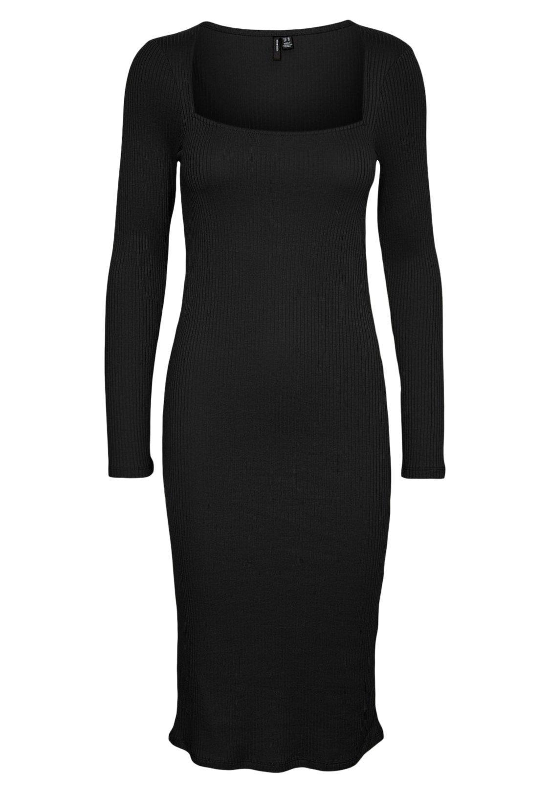 Women VMPOLLY SQUARE NECK DRESS - Shift dress