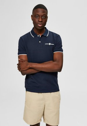 Polo shirt - sky captain 2