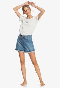 Roxy - OCEANHOLIC  - Print T-shirt - snow white - 1