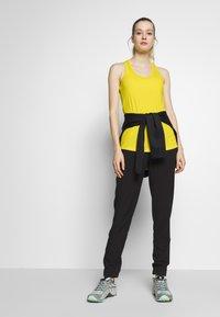 The North Face - WOMENS FLEX TANK - Sports shirt - lemon - 1