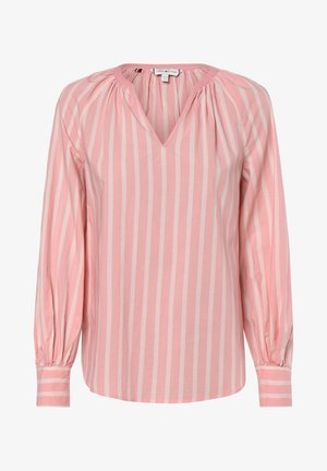 LACIE - Blouse - rosa weiß