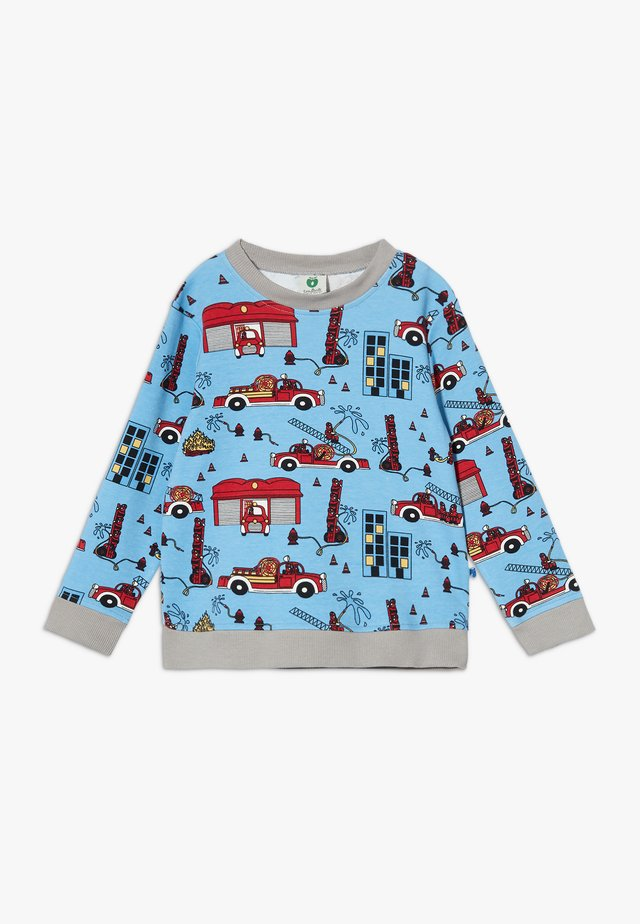 FIRETRUCK - Long sleeved top - sky blue