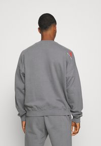 Calvin Klein Jeans - OVERSIZED BADGE - Sweatshirt - shining armor - 2
