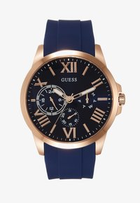 Guess - MENS DRESS MULTIFUNCTION  - Chronograph watch - blue/rose gold - 0
