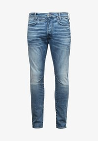 G-Star - D-STAQ 3D SLIM - Slim fit jeans - vintage striking blue - 4