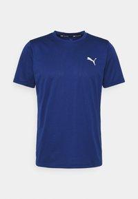 Puma - TRAIN FAV BLASTER TEE - T-shirts basic - elektro bue/eggnog - 0
