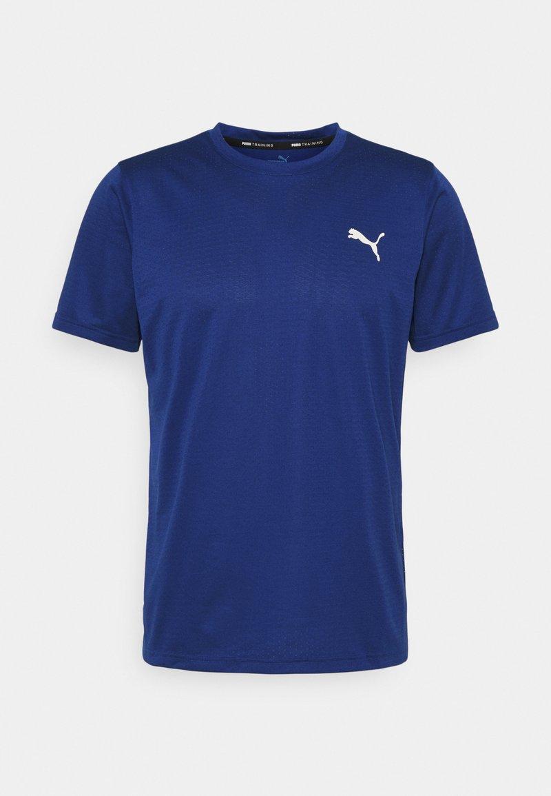 Puma - TRAIN FAV BLASTER TEE - T-shirts basic - elektro bue/eggnog
