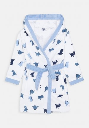 PRINTED BATHROBE BOY - Dressing gown - white