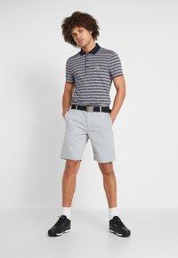 Lacoste Sport - STRIPE - Poloshirt - navy blue/white - 1