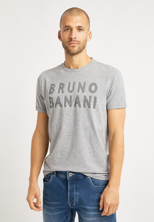 T-shirt imprimé - grau melange