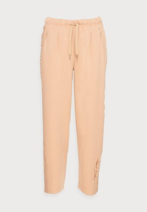 RELAXED LONG PANT - Pantaloni sportivi - beige
