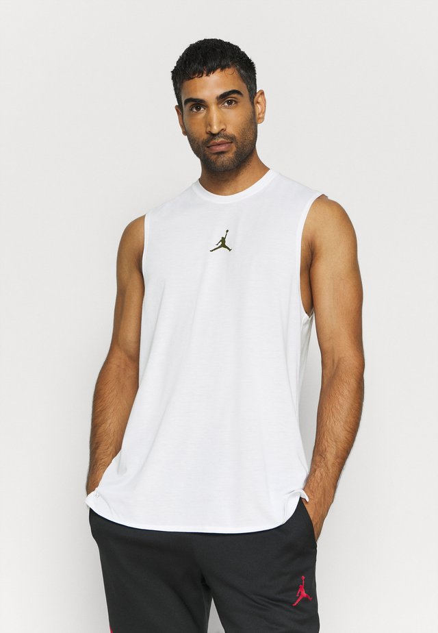 AIR TOP - Sportshirt - white/black
