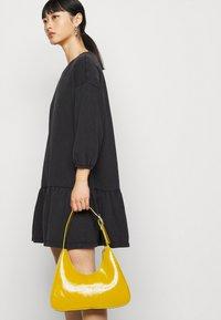 ONLY Petite - ONLDEA 3/4 TUNIC DRESS - Day dress - black - 3