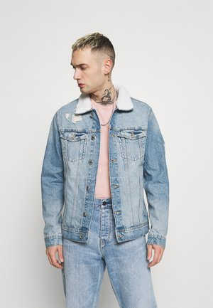 JJIJEAN JJJACKET  - Denim jacket - blue