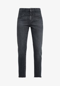 CLOSED - CROPPED X - Straight leg jeans - dark grey - 4