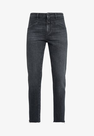 CROPPED X - Straight leg jeans - dark grey