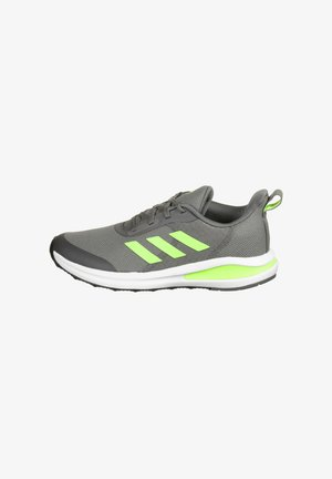 Stabilty running shoes - grey four / signal green / cloud white