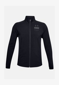Under Armour - SUMMER WOVEN FZ - Training jacket - black - 2