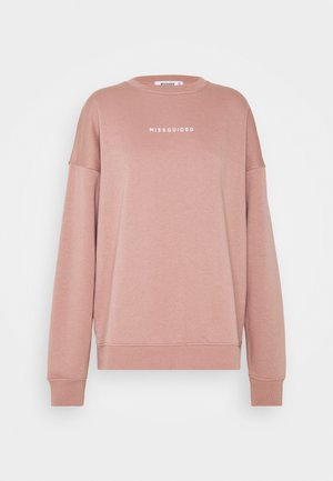 BASIC OVERSIZED - Sweatshirt - rose