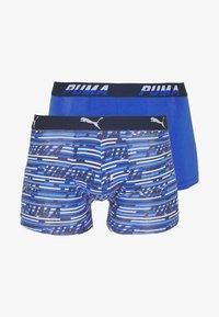 Puma - LOGO 2 PACK - Culotte - blue combo - 4