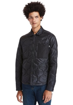 LS MIX MEDIA ONION QUILT - Light jacket - black