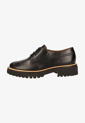 DERBIES - Zapatos de vestir - schwarz 027