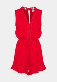 Molly Bracken - EXCLUSIVE PLAYSUIT - Mono - bright red - 0