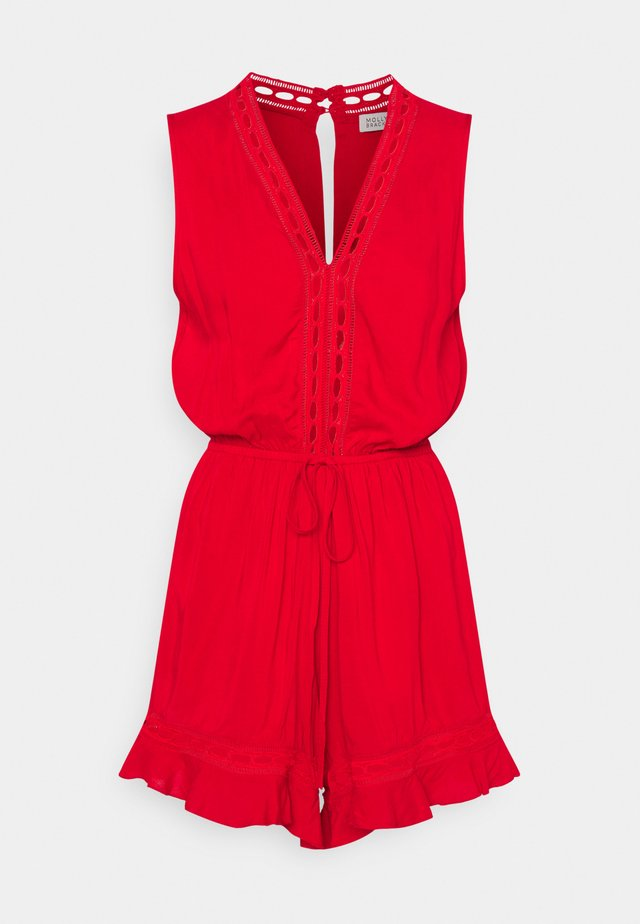EXCLUSIVE PLAYSUIT - Jumpsuit - bright red
