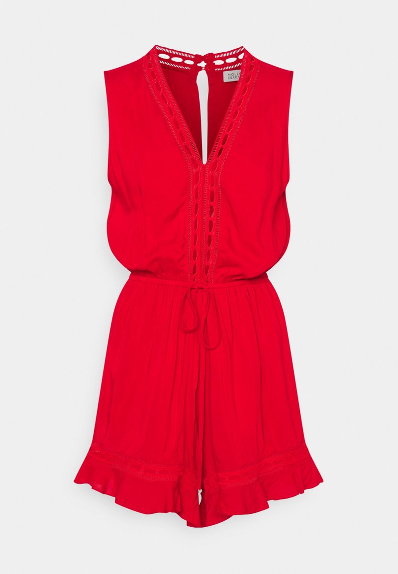 Molly Bracken - EXCLUSIVE PLAYSUIT - Mono - bright red