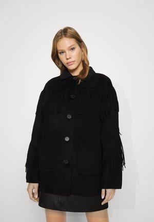COAT - Krátký kabát - black