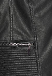 Wallis - BIKER - Faux leather jacket - black - 6