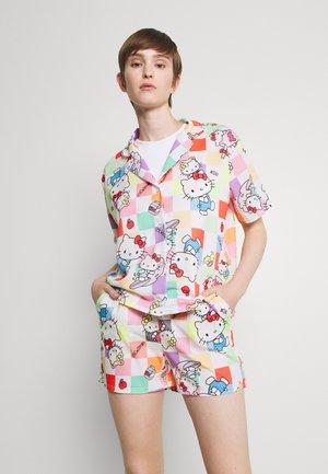 CHECKERBOARD SHIRT - Button-down blouse - multi